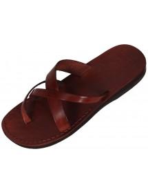 Kožené pantofle - Sahure