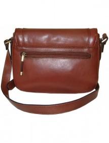 Kožená kabelka 82130 (26x23,5x10)