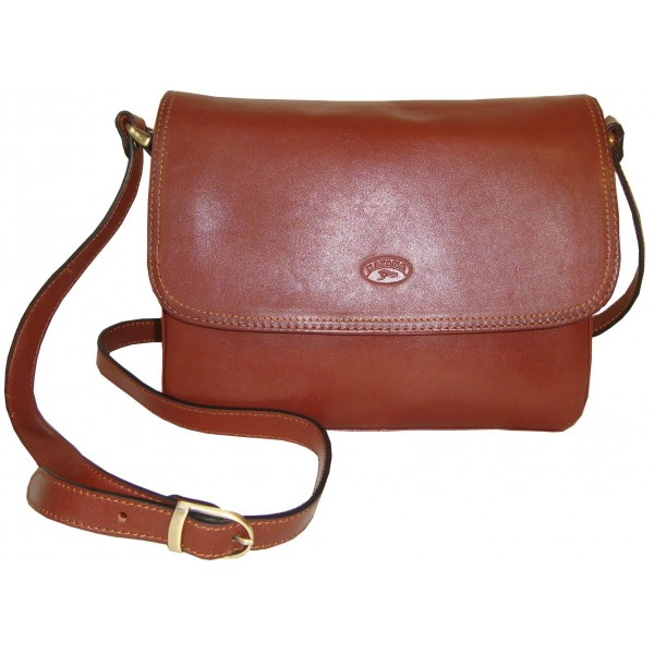 Kožená kabelka 82365 (41x27x10)
