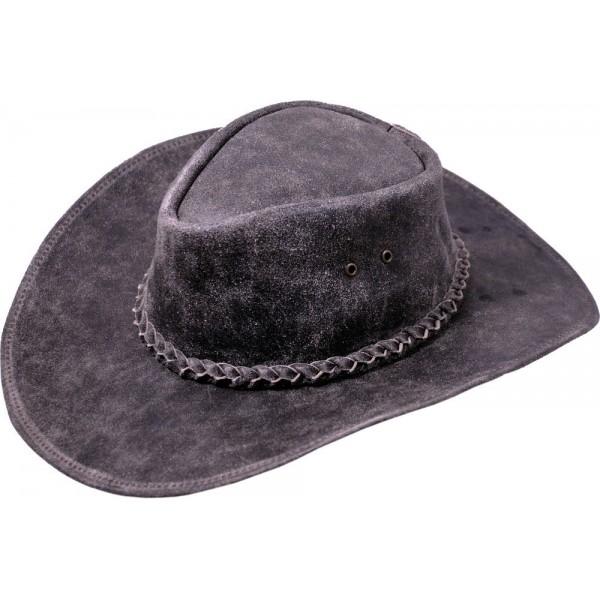 Pánský kožený klobouk Kansas
