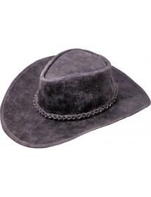 Pánský kožený klobouk - Kansas