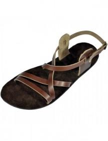 Kožené barefoot sandály - Pepi
