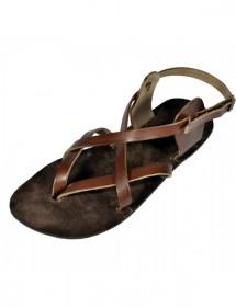 Kožené barefoot sandály - Peribsben