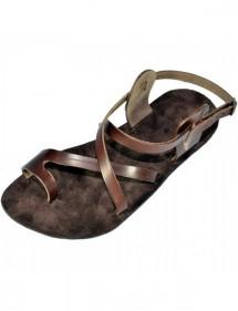 Kožené barefoot sandály - Menkaure