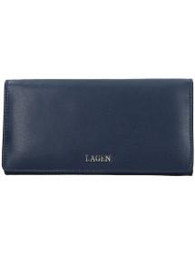 Lagen kožené puzdro na kreditné karty tmavo hnedé 5015