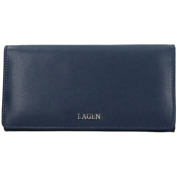 Lagen kožené pouzdro na kreditní karty 5015