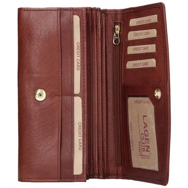 Kožené puzdro na kreditné karty vk227