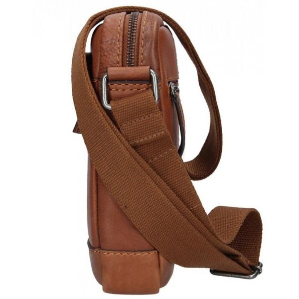 Lagen pánska kožená peňaženka hnedá 511451