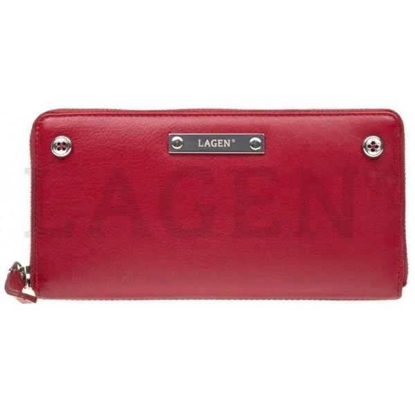 Lagen pánská kožená peněženka světle hnědá 51148