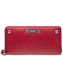 Lagen pánska kožená peňaženka svetlo hnedá 51148