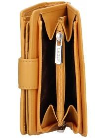 Lagen pánska kožená peňaženka hnedá 51148