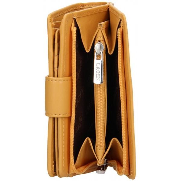 Lagen pánská kožená peněženka hnědá 51148
