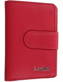 Lagen pánska kožená peňaženka čierna 51148