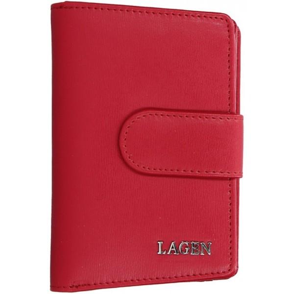 Lagen pánská kožená peněženka černá 51148