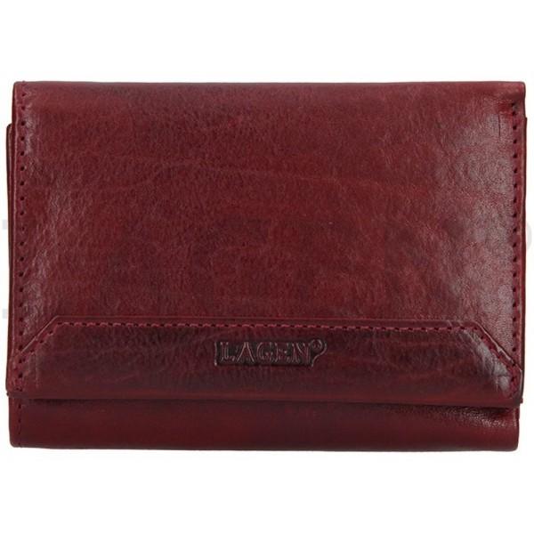 Lagen pánská kožená peněženka hnědá 5096