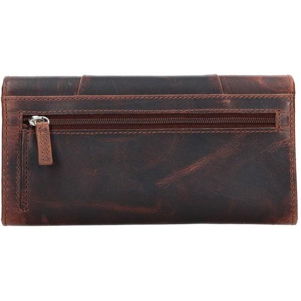 Lagen pánská kožená peněženka světle hnědá 51145