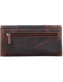 Lagen pánska kožená peňaženka svetlo hnedá 51145