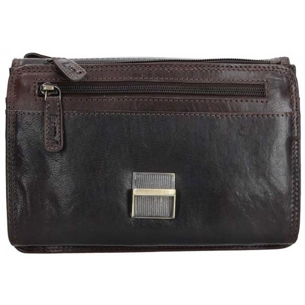 Lagen dámska peňaženka kožená červená 3534 / t