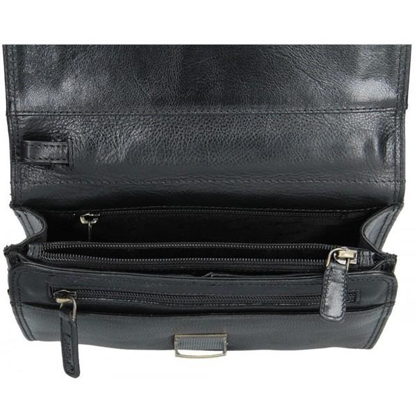 Lagen dámska peňaženka kožená 2829 trojfarebná