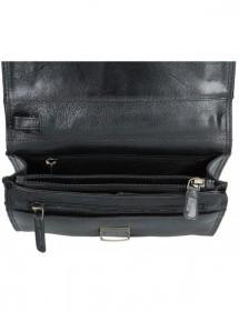 Dámska peňaženka kožená trojfarebná