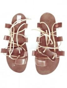 Kožené barefoot sandály - M6