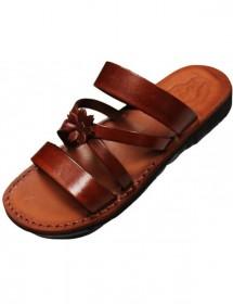 Dámské kožené pantofle - Sanacht