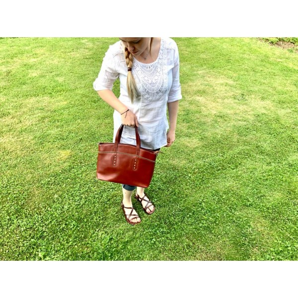 Lagen dámska peňaženka kožená 26512/T - červená/čierna